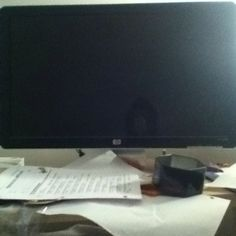 Latest technology a flat screen monitor for the pc
