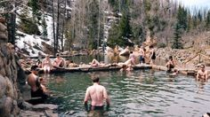 Strawberry Park Hot Springs in Steamboat Springs - Colorado Summer Bucket List   photo by: Wil Claussen