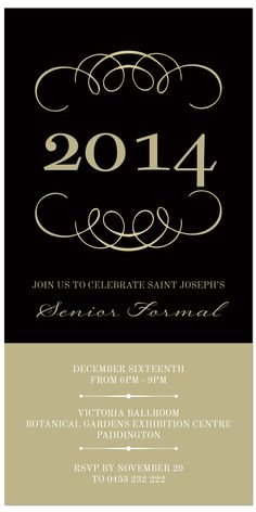 Formal Ball Invitations Sivan Mydearest Co