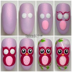 """Fie Pedersen on Instagram: """"[reklame] Be owlsome 🦉 #nails #nailsonpoint #nailtech #nailpro #nailaddict #nailswag #nailsonfleek #nailsnailsnails #nailsdid…"""""""