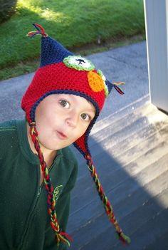 Nobody Gives a Hoot Hat by karenswimmer on Etsy, $20.00