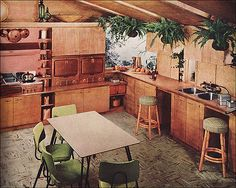 1955 Kitchen - Curtis Woodword | by American Vintage Home