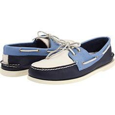 Sperry A/O 2 Eye Boat Shoes  I would wear these!