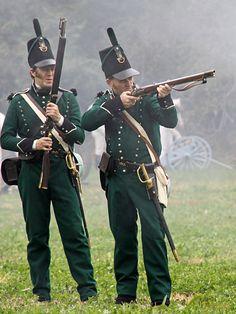"""Fucilieri del 95º reggimento di fanteria inglese """" Rifles"""""""