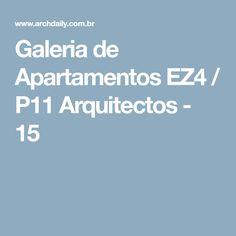 Galeria de Apartamentos EZ4 / P11 Arquitectos - 15