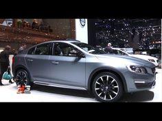 NEW VOLVO V60 CROSS COUNTRY - S60 CROSS COUNTRY - SALONE DI GINEVRA 2015...