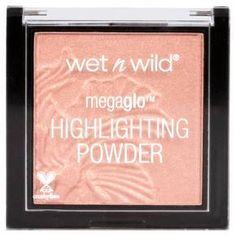 Brighten up your look any day of the week with the Wet n Wild MegaGlo Highlighting Powder. This powder highlighter has a medium metallic sheen that instantly ups your look whether you wear it alone or you pair it with bronzer for a contoured makeup style.