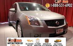 Pre-owned 2009 Nissan Sentra 2.0 CVT @ CarOne Kingston.         Unheard of used vehicle financing starting at 0.9% & oil changes for life on select models! Free CarProof reports on all vehicles along with our standard 100 point inspection & certified on site 155 point inspections.        This 2009 Nissan Sentra 2.0 CVT is waiting and ready to go. Check it out at 1010 Centennial Drive  Kingston, Ontario or http://www.car1.ca…