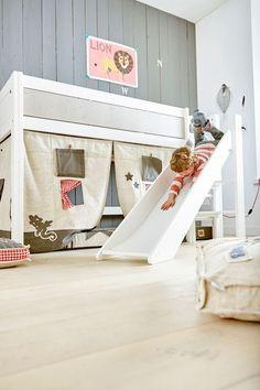 Kolekcja BED WITH SLIDE (GIRLS/BOYS) - meble dziecięce