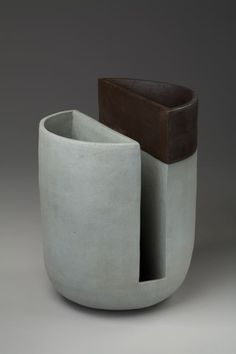 Cynthia Rae Levine  #pottery #ceramics great as a napkin and silverware/cooking tools holder