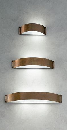 Fashion - lampada a parete in rame