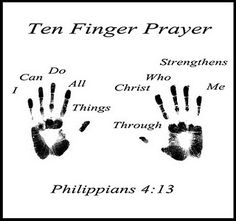 I can do all things through Christ which strengtheneth me - Philippians ~~I Love the Bible and Jesus Christ, Christian Quotes and verses. Sunday School Activities, Church Activities, Bible Activities, Sunday School Crafts For Kids, My Little Kids, Christian Crafts, Christian Quotes, Bible For Kids, Preschool Bible Crafts