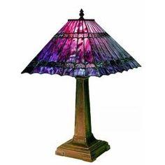 7ddc6ea6875 Purple Tiffany-style lamp Tiffany Art