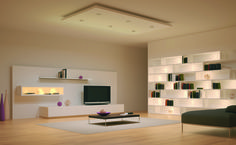 modern-open-space-living-room-design-lighting-system-ideas-with-cool-led-ceiling-recessed-and-wall-shelves-concealed-lights-furniture-and-accessories-creative-eye-catching-home-interior-led-lights