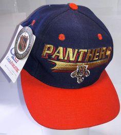 66882939 Florida Panthers Vintage Snapback Logo Athletic Splash Hat NHL Rare NWT Cap  #LogoAthletic #FloridaPanthers #Snapback #Panthers #VintageSnapback #hat