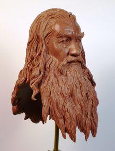 Gandalf the Grey by TKMillerSculpt
