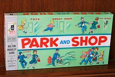 Park and Shop Game - My absolute favorite board game as a child.  I still have it.