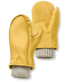 Find the best Men's Buckskin Chopper Mitts at L. Our high quality Men's Accessories are thoughtfully designed and built to last season after season. Mitten Gloves, Mittens, Shetland Wool, Cold Weather Fashion, Deer Skin, Mens Gloves, Ll Bean, Chopper, Snug Fit