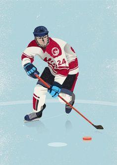 Hockey player & analyst on Behance