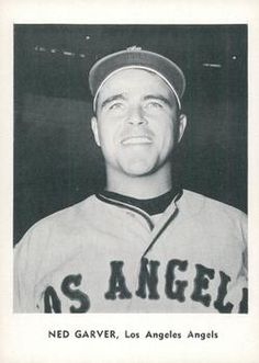 1961 Jay Publishing Los Angeles Angels #NNO Ned Garver Front