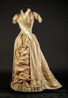 ~Dress, 1880s, From the collection of Alexandre Vassiliev~