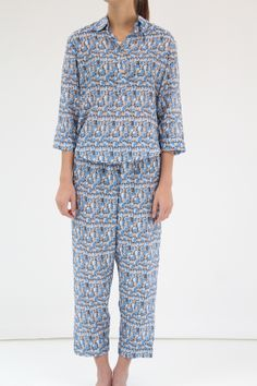 Lina Rennell Cotton Silk PJ's