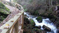 Paisaje senda del río Troncoso Garden Bridge, Outdoor Structures, Scenery, Fotografia