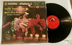 Arthur Fiedler / Boston Pops ~ Gaite Parisienne LP