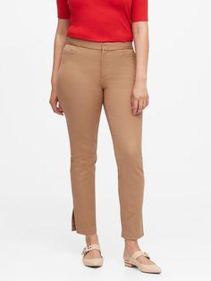 Curvy Sloan Skinny-Fit Washable Pant | Banana Republic® EU Fitness Motivation, Motivation Quotes, Woman Quotes, Skinny Fit, Stretch Fabric, Banana Republic, Thighs, Khaki Pants, Shopping