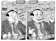 Mice Cartoon: Tidur atau Kerja? (Kompas, 24 Maret 2013)