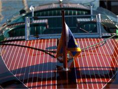 Tahoe wooden boat