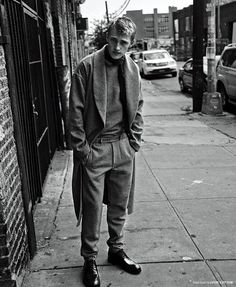 """l-homme-que-je-suis: Victor Nylander in """"City Limits"""" Photographed by Kevin Sinclair and Styled by Alex Van Der Steen for Essential Homme November 2014"""