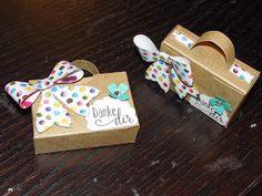 Kreativ am Deich : ....kleines Mini- Köfferchen mit kleiner Anleitung ....