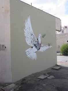 Banksy Palestine - 2007