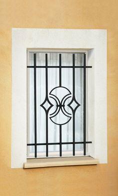 Le Ferronnier - Grille de fenêtre en fer forgé Natanel   GFNATANEL