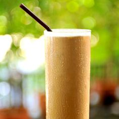 My 20 calorie breakfast fiber frappe.    ingredients:  1/2 tbsp breakfast blend instant coffee, 1/2 cup water, 5 ice cubes, 4 packets Splenda w/fiber, 2 tbs GV light whipped topping.  Mix instant coffee & Splenda in water. Add mixture, ice cubes, & whipped topping to blender. Pulsate till smooth.   *Adjust recipe to personal taste. Calories to vary w/type of whipped cream.