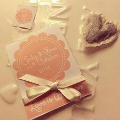 Tea bag wedding favours with hand sewn heart shaped tea bag x 100 on Etsy, $391.37 AUD