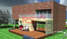Casa cu etaj in terasa moderna | RSbA - Birou de arhitectura | http://rsba.ro