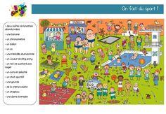 Cherche et trouve: troisième série Bing Images, Kids Rugs, Attention, Patience, Montessori, School Stuff, Logo, Sports, Search And Find