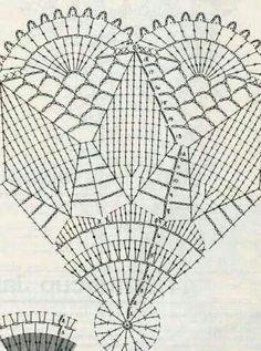 Szydełka dwa i wiele więcej. Crochet Doily Diagram, Crochet Mandala Pattern, Crochet Basket Pattern, Filet Crochet, Crochet Patterns, Crochet Bowl, Crochet Fish, Thread Crochet, Crochet Crafts