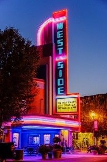 The West Side Theatre..Newman, CA