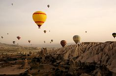 27 Surreal Places To Visit Before You Die...Ancient Region of Anatolia in Cappadocia, Turkey