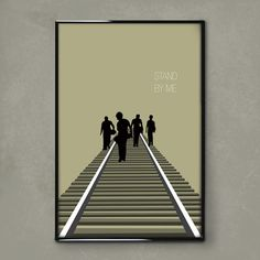 Stand By Me 11x17 movie poster by brandonwithglasses on Etsy, $30.00