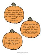 Thanksgiving Bible Verses for Kids