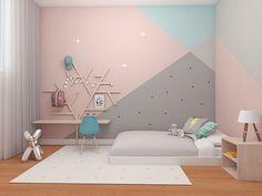 room colors for girls bedroom ~ room colors Baby Bedroom, Baby Room Decor, Bedroom Wall, Bedroom Decor, Kids Wall Decor, Bedroom Colors, Modern Bedroom, Kids Room Paint, Girl Bedroom Designs