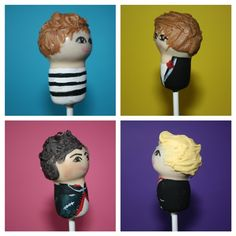 One Direction Cake pops! If only I was talented enough to make these..