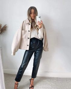 Uni Outfits, Fall Fashion Outfits, Casual Winter Outfits, Everyday Outfits, Trendy Outfits, Outfit Invierno, Lookbook, Autumn Winter Fashion, Flannel Jacket