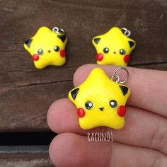 Hi everyone!☺️ Today I have these Pika-Stars my friend asked me too make him something Pikachu! So this is what I made him!☺️ I was inspired by @dacraftylilninja  Her stars are amazing! Have a great day
