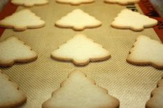 YUMMY egg-free sugar cookies. Just add 1/8 cup more milk! Student and Teacher approved!!!