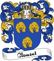 Clement Coat of Arms  Clement Family Crest   VIEW OUR FRENCH COAT OF ARMS / FRENCH FAMILY CREST PRODUCTS HERE